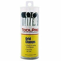 TOOLPRO TP05044 Professional Ceiling Grid Clamp, 4 Pack
