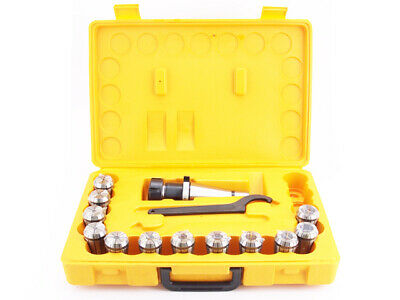 ER32 - ISO40 Collet Chuck Set - 12 pcs (DM-076) for tools with cylindrical shank