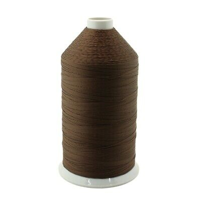 Dark Brown Bonded Nylon Upholstery Thread Size 138, Tex 135, 16 Oz. 3000 Yards