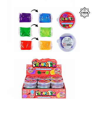 PUTTY TUBS CHANGING COLOUR Colourful Goo Gift Heat Sensitive Slime HBN14305 UK