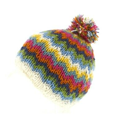 One Size 100/% Wool New with Tags Pachamama Arundel Bobble Beanie