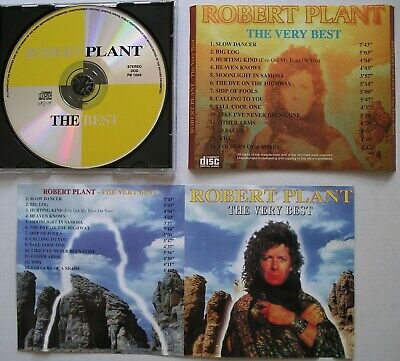 Robert Plant The Very Best *Very Rare 90'S Cd Compilation* Led Zeppelin