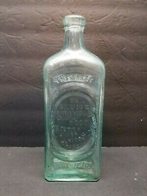 Antique Dr. Kilmer's Swamp Root Kidney Liver and Bladder Cure Bottle Binghamton