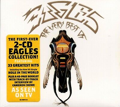 EAGLES The Very Best Of The Eagles  2 CD Collection New  Fast Free Shipping