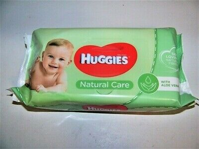 Huggies Natural Care  Baby Wipes with Aloe Vera   56 Wipes per pkg.