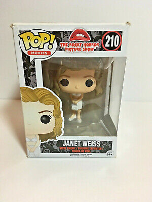 Funko POP! Movies Rocky Horror Picture Show Janet Weiss #210 Halloween Classic