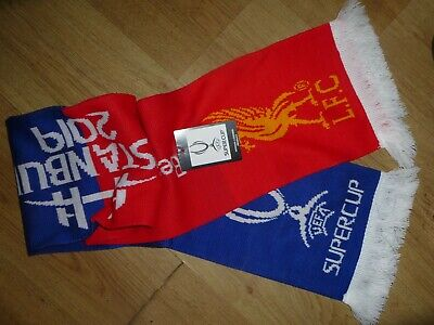 Super Cup Final 2019 Liverpool v Chelsea OFFICIAL scarf!