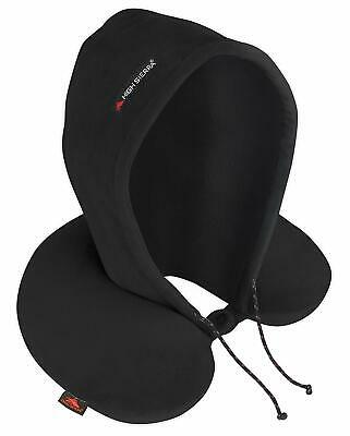 High Sierra Premium Memory Foam Travel Pillow w/ Attached Hood