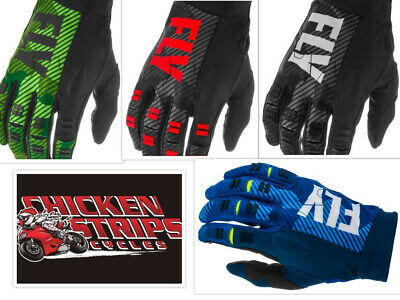 NEW 2018 FLY RACING KINETIC MOTORCYCLE MX GLOVES ALL SIZES ALL COLORS FREE SHIP