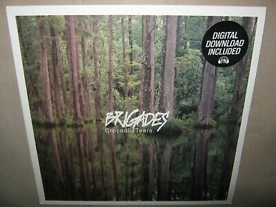 BRIGADES Crocodile Tears FACTORY SEALED New LimitED COLOR Vinyl LP +Mp3Download?