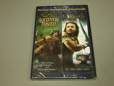 Gullivers Travels/The Odyssey - Classic Adventures Collection (DVD set)  NEW