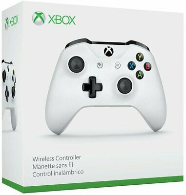 Official Microsoft Xbox One Wireless Controller- White