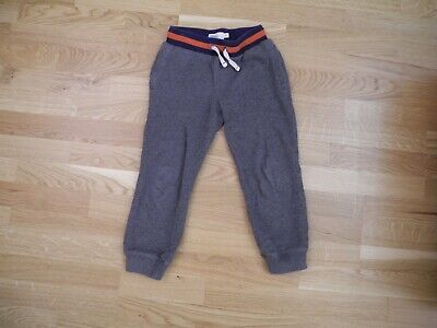 Boys Boden Thick Grey Elasticated Waist Pull-on Jogging Bottoms Joggers Age 5