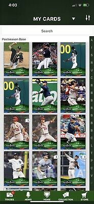 Topps Bunt 2019 Green Postseason 4X Bunch To Chose From Pick 9