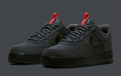 Nike Air Force 1 '07 Anthracite Black BQ4326-001 Men's Shoes Multi Size NEW