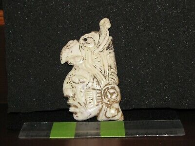 Pre/Post Columbian, Meso American Zone, Choice Mayan with Headdress Carving