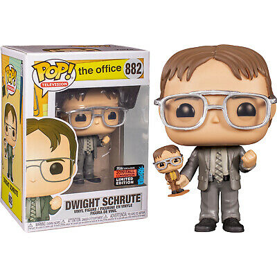 The Office - Dwight Schrute with Bobblehead Pop! Vinyl Figure (2019 NYCC)