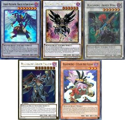 Yugioh Blackwing 2019 Deck - Nothung - Gale- 55 Cards - NM