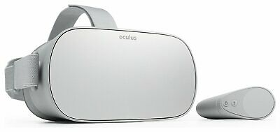 Oculus Go All In One Standalone Multi Platform 32GB 3D VR Gaming Headset - White