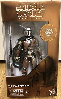 Star Wars Black Series The Mandalorian Carbonized Graphite IN HAND Minty
