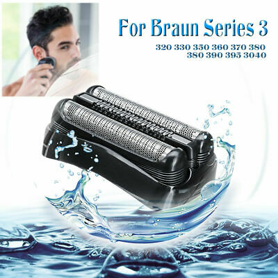 Replacement Electric Shaver Foil Head Fit Braun Series 3 32b 3090cc 3050cc 3040s