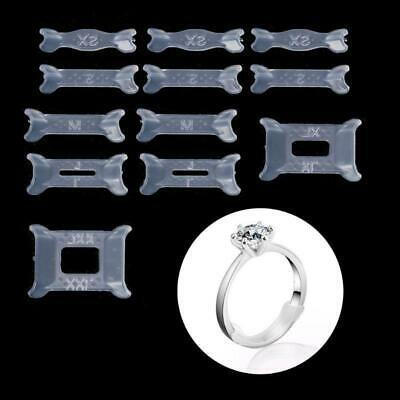 12x Invisible Ring Size Adjuster for Loose Ring Size Reducer Spacer Ring Guard