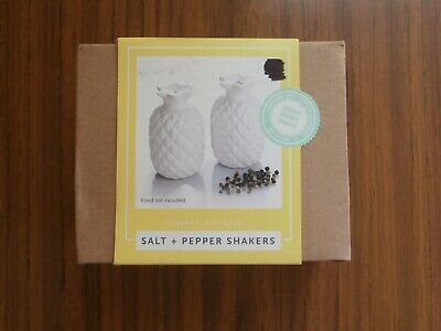 Novelty Pineapple Salt & Pepper Shakers, New in box, Ready To Gift!