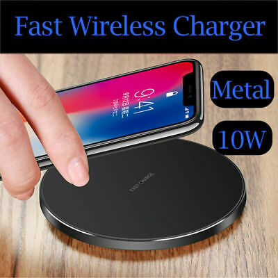 Cuscinetto ricarica caricabatterie wireless veloce lusso Qi Apple iPhone 11 Pro