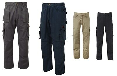 Tuff Stuff 711 Pro Work Trousers Pants Holster Knee Pad Pockets 4 Colours