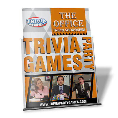 The Office Trivia Showdown Booklet Trivia Party Games