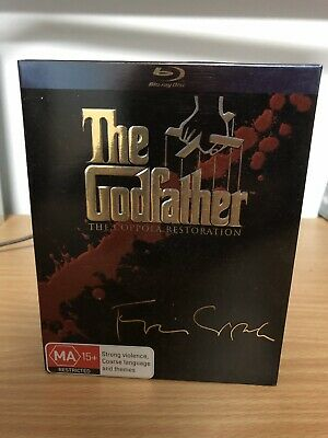 The Godfather Trilogy Complete Blu Ray Collection Box Set