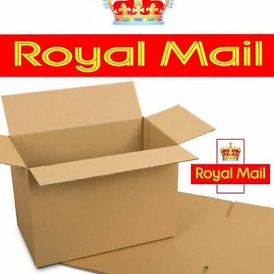 20 x NEW DEEP Max Size Royal Mail Small Parcel Packet Postal Boxes 450x350x160mm