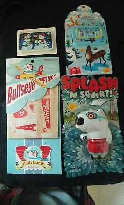 Target Bullseye Flyer Squirter Gift Cards Ten (10) total No Value