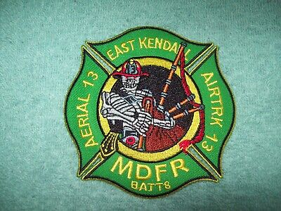 Florida Fire Department Patch - Miami Dade Fire Rescue - East Kendall Station 13
