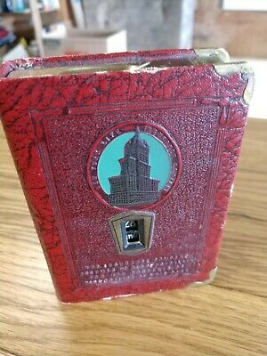 Vintage NEW YORK LIFE INSURANCE COMPANY promotional Money Bank Book  ~ Piggy