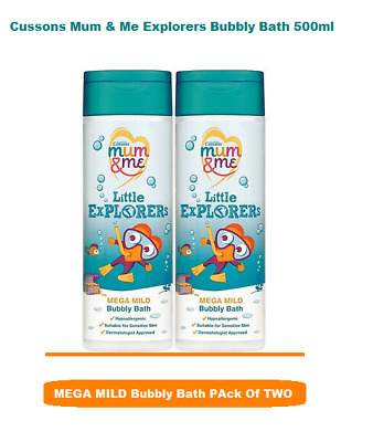 Cussons Mum & Me Explorers Bubbly Bath 500ml Pack of two