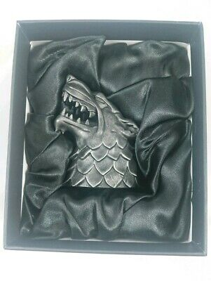 NYCC 2019 Dark Horse Game of Thrones House Stark Sigil Mini Sculpture LE 1000