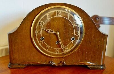 Art Deco Enfield Westminster Chimes Mantle Clock - Running Well