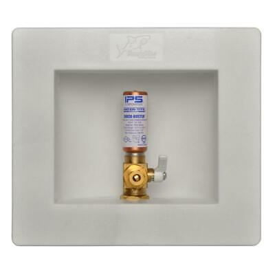 SharkBite 1/2 in. Push-to-Connect Brass Ice Maker Outlet Box