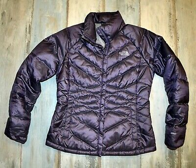 THE NORTH FACE WOMAN'S PURPLE DOWN 550 QUILTED JACKET size M medium