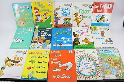 10 RANDOM SELECTIONS of Dr. Seuss I Can Read It & Bright and Early Books HC