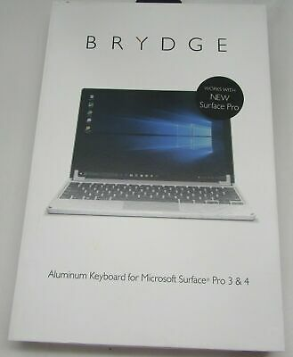 Brydge 12.3 for Microsoft Surface Pro All Models Wireless Bluetooth Keyboard