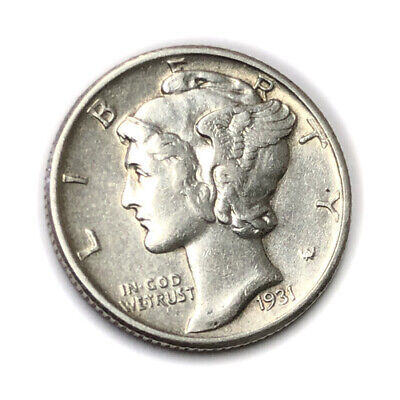 Better 1931-P 10C Mercury Dime Silver *Lot-A