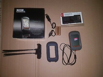 Garmin Dakota 20 GPS Receiver with Full UK Premium & TopoActive Europe Maps