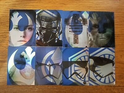 2019 Star Wars Journey to Rise of Skywalker Foil Character Card Pick Your Card