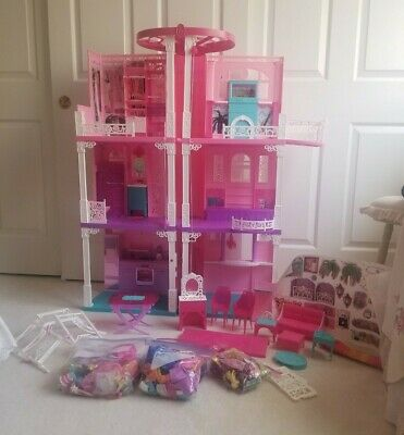 Barbie Dream House 3 Story with Elevator and Accessories Discontinued