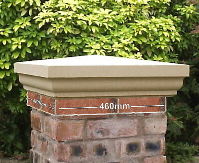 Fluted Cast Stone Pier Caps Two Sizes And Colours Available Garden Walling Regal