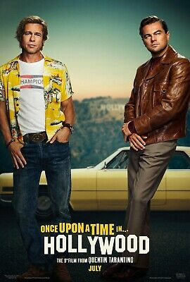 ONCE UPON A TIME IN HOLLYWOOD MOVIE POSTER DS ORIGINAL  27x40