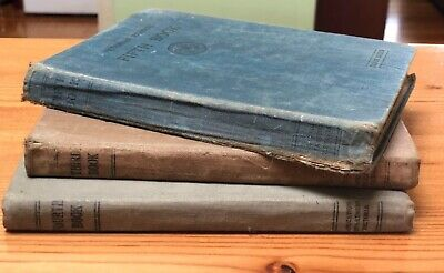 Lot Of Antique Vintage Victorian School Readers Books Second Edition