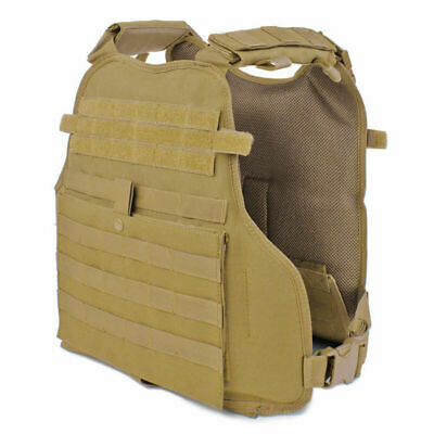 CONDOR Modular Operator Plate Carrier MOLLE Tactical Military Vest Coyote Brown